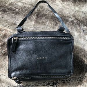 Authentic Givenchy Pandora Handbag Black